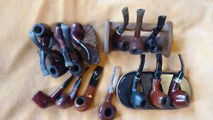 15 Pfeifen Konvolut, div. Hersteller (Vauen, Lorenz, Jeppesen, ...), beraucht