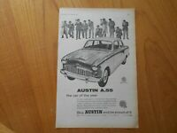 Vintage Austin A55 Advert -- Original -- from 1957