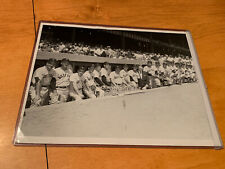 Type 1 Photo Circa 1941 Red Sox In Dugout W/ Ted Williams