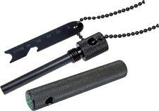 Boker Plus Magnesium Fire Starter w/ Black Stainless Steel Ball Chain 09BO778