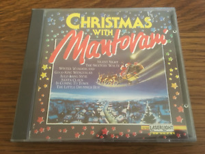 """Mantovani Orchestra """"Christmas With Mantovani"""" NEW & SEALED CD Posted From UK"""