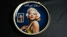 """Marilyn Monroe Collectible Plate Bradford Exchange Usps """"Sultry Yet Regal"""""""