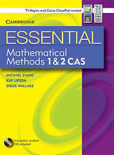 Essential Mathematical Methods CAS 1 and 2 without CD-ROM TIN/CP Version by