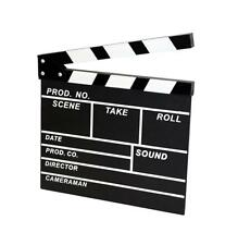 NEW Hollywood Movie Clapper Board with Chalk