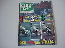 MOTOSPRINT 27/1978 PROVA TEST MOTO YAMAHA XS 1100