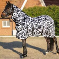 Nouvelle annonce HKM Zebra Fly Rug with Neck