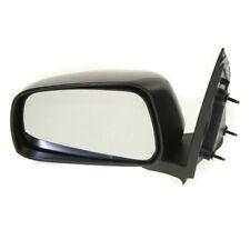For 05-21 Frontier Truck Rear View Door Mirror Manual Textured Black Driver Side