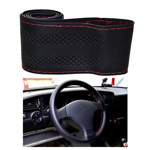 38cm /15'' Universal Car Auto Steering Wheel Cover Non-Slip DIY w/ Needle Thread