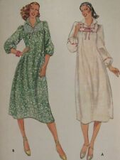 Lovely VTG 70s BUTTERICK 6031 Misses Dress in 2 Versions PATTERN 12/34B UC