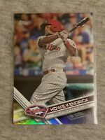 2017 Topps Update Howie Kendrick Phillies Rainbow Foil Parallel Card #US217