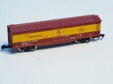 Marklin Z-scale Box car The Milwaukee Road Railroad, no box