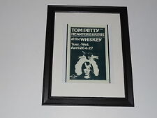 "Framed Tom Petty & Heartbreakers 1977 at the Whiskey Mini-Poster 14"" by 17"""