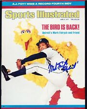 "MARK FIDRYCH RP SIGNED 8X10 DETROIT TIGERS ""THE BIRD"" SI COVER"
