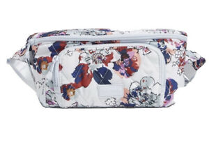 Nwts Vera Bradley Ultralight RFID Belt Bag/Fanny Pack Exuberant Floral $99