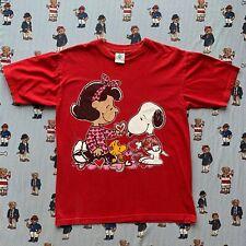 Snoopy Lucy Van Pelt Vintage Shirt L Charlie Brown Movie Promo Stanley Desantis