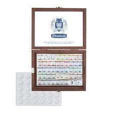 Schmincke Horadam® Aquarell Holzkasten 48 halbe Napf Malkasten Aquarellfarbe