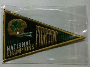 2013 Upper Deck NOTRE DAME FIGHTING IRISH 1966 National Championship Pennant '66
