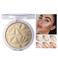 Face Powder Highlighter Palette Illuminator Contour Glow Makeup Bronzer Glow