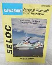 Kawasaki Personal Watercraft Manual1992-97
