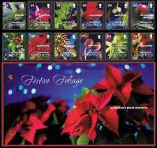 More details for guernsey 2008 christmas set of 12 presentation pack + 2 x fdc
