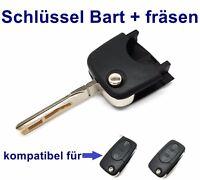 Ersatz Schlüssel Bart+ Schleifen Nachmachen Fräsen für AUDI A2 A3 VW Passat HAA