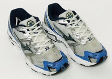 Womens Mizuno Wave Rider 11 Blue Running Sneakers Cross Training Shoes Size 8.5
