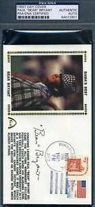 Paul Bear Bryant PSA DNA Cert Autograph 1981 FDC Hand Signed Authentic