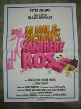 LA MALEDICTION DE LA PANTHERE ROSE 1978 Affiche Originale 40x55 Movie Poster
