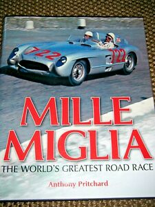 MILLE MIGLIA ROAD RACE PRITCHARD NUVOLARI STIRLING MOSS MARQUES DE PORTAGO BMW