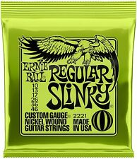 Cordes pour guitare électrique Ernie Ball Regular Slinky Nound - Calibre 10-46