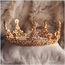 D19 Golden Crown Hairpin Hair Band Clasp Headwear Jewellery Accessories Y