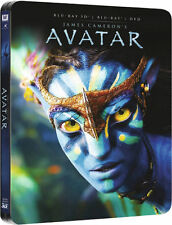 Avatar 3D/2D ( Blu-ray, SteelBook 3D/2D, Zavvi Exc. J.Cameron)RegionFREE