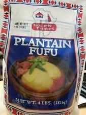 Ghana Taste Plantain Fufu  4lbs(GOLDEN TROPICAL