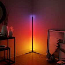 Modern Led Floor Lamp Home Bedroom Living Room Bedside Lamp Colorful Standing