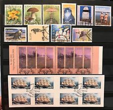 Aland Finland Year Set 2003 CTO Complete with 2 Booklets - EXCELLENT!