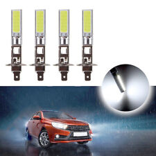 4x Ultra White H1 CREE LED Headlight High Low Beam Light SMD Bulbs Vehicle Lamp