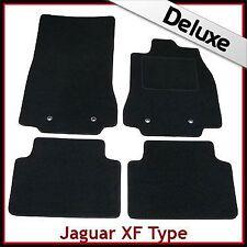 JAGUAR XF MK1 2008-2015 Tailored LUSSO 1300g AUTO TAPPETINI NERO