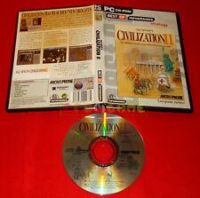 SID MEIER'S CIVILIZATION II 2 Pc Versione Inglese Economica ○ USATO - E9