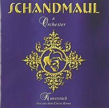 Schandmaul Kunststück-Live aus dem Circus Krone (2005, & Orchester)  [CD]
