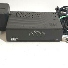 Scientific Atlanta DPC2100R2 Cable Modem w/Adaptor & Belkin Ethernet Cable Works