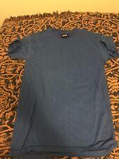 New listing Vtg Usa 7 Lot Blank Top Half Ssi 50/50 Medium T Shirt Tee Shirts Royal Blue 80's