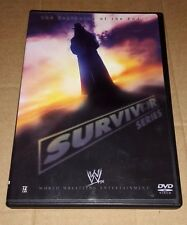WWE - Survivor Series 2005 (DVD, 2005) WWF UNDERTAKER ECW