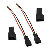 2 câbles connecteurs adaptateurs haut-parleurs pour Citroen Peugeot Fiat
