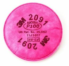 3M Particulate Filter 2091, P100, (5 pairs/ 10 filters)