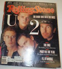 Rolling Stone Magazine U2 & P.J. O'Rourke March 1988 120314R2