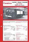 Fire Equipment Brochure - Camiva - Tender JP 13 A C Renault Truck - 1983 (DB319)