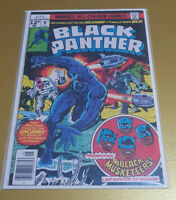 """Black Panther #9 May 1978. Bronze Age Marvel 📖 """"Jack Kirby"""" NM+ 9.6 1st Print"""