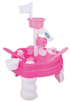 Childrens Girls Pink Sand & Water Table Kids Outdoor Garden Sandpit Toy Set 316