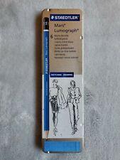 New listing Staedtler Mars Lumograph Drawing Pencils 6-Count Set (Plz Read Description)