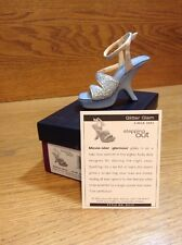 Raine Just the Right Shoe Coa Box Glitter Glam 25315 Stepping Out